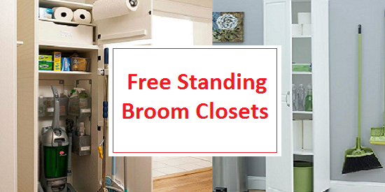 Best Free Standing Broom Closet Cabinets