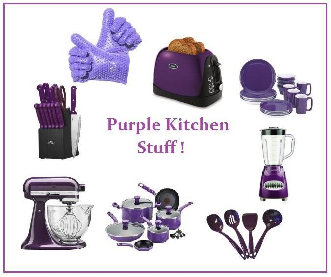 Purple And Green Kitchen Accessories: Best Purple Silicone Kitchen Utensils & Accessories