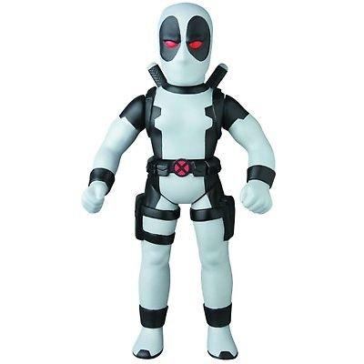 2015 Deadpool X-Force Gray Marvel Retro Medicom Sofubi Collection Figure NIB