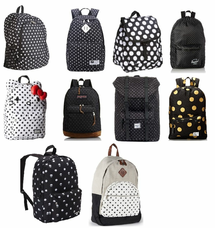 Best Black and White Polka Dot Backpack Reviews cover image