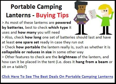 Best Portable Camping Lanterns Reviews