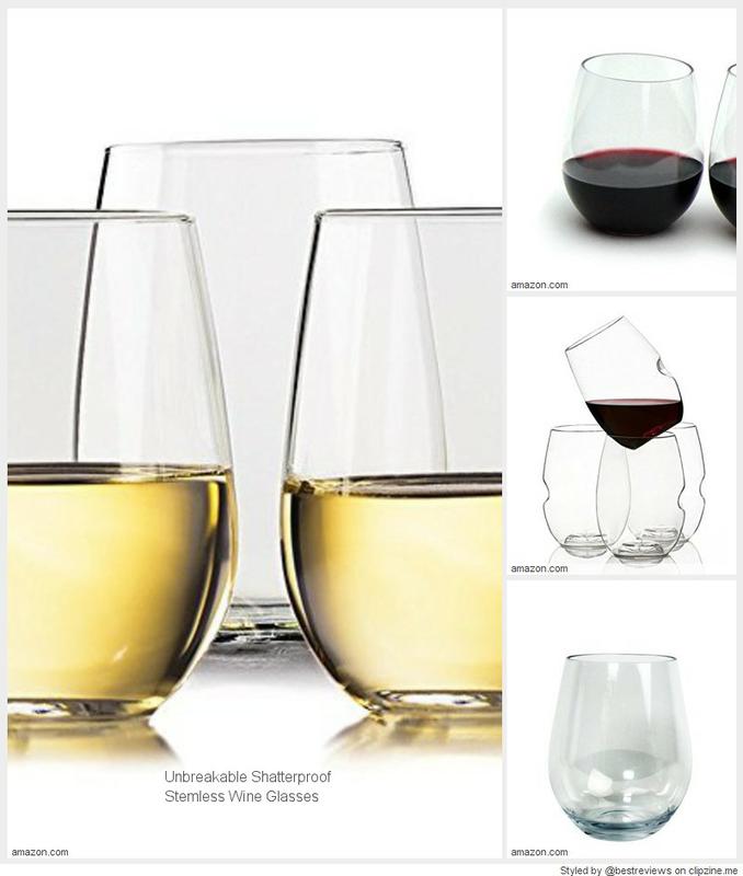 Best Unbreakable Stemless Wine Glasses