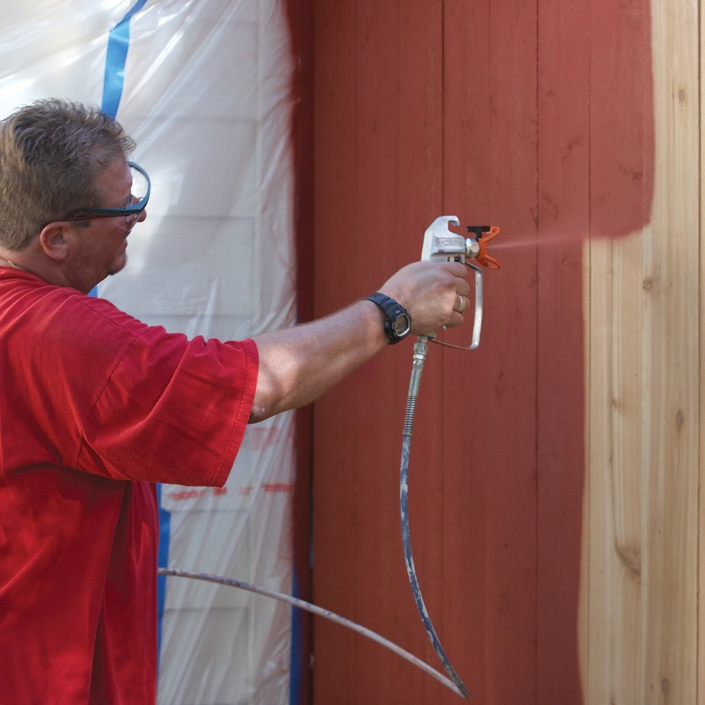 Learning To Use A Paint Sprayer