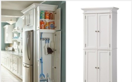 Genial Need A Free Standing Broom Closet (or Cabinet) For Your Kitchen, Laundry  Room Or Garage? They Are A Great Way To Organize Your Cleaning Supplies,  Vacuum, ...