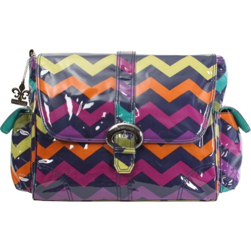 Chevron Backpacks for Girls  Best Colors Aqua Pink Blue Red Black and white purple - cover