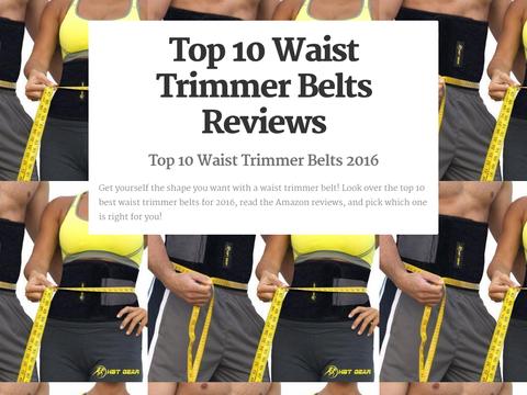 cc260e52ce 10 Best Waist Trimmer Belts 2016