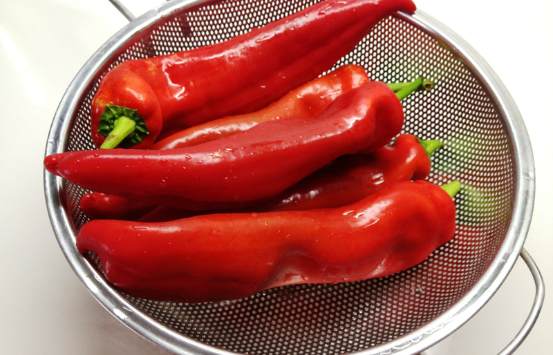 Перец в аджике рецепт с фото
