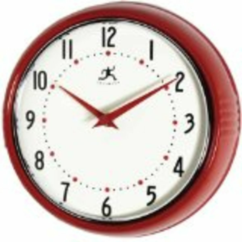 Here Are A Selection Of The Best Red Wall Clocks To Fit Into Your Red  Kitchen Scheme. The Range Of Red Kitchen Clocks Is Huge, Choose From Large,  Pendulum, ...