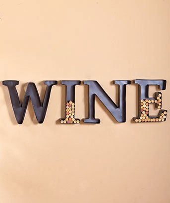 Letter Wine Cork Holders