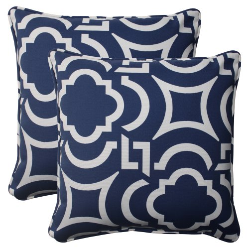 best navy blue throw pillows on flipboard - Blue Decorative Pillows