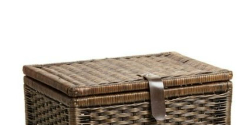 small wicker baskets with lids. Black Bedroom Furniture Sets. Home Design Ideas