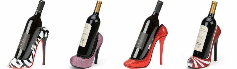 High Heel Wine Bottle Holders