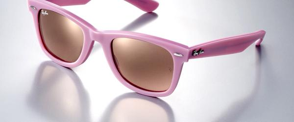 8c80bcd0619 Find your best prices on Ray Ban junior girls pink Predator wrap around  sunglasses for kids. These Rayban sunglasses are the best you can buy.