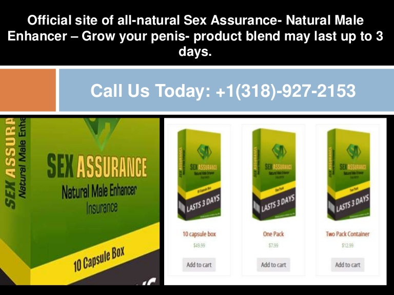 All natural male enlargement