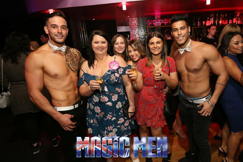 Clubs with male and female strippers
