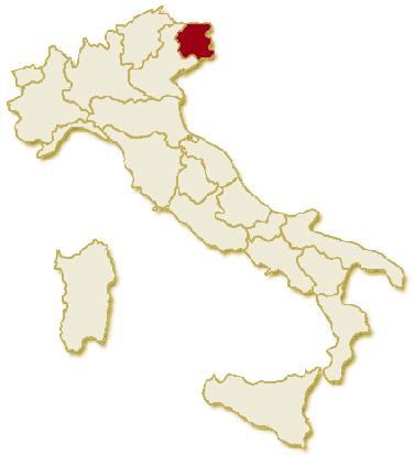 Cartina Italia Nord Sud Est Ovest.Itinerario In Friuli Venezia Giulia