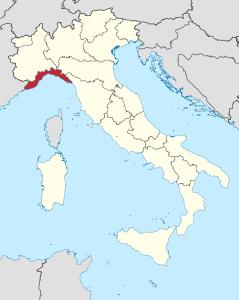 Cartina Italia Nord Sud Est Ovest.Itinerario In Liguria